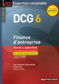 Michèle Mollet et Alain Burlaud - Finance d'entreprise DCG6 - Manuel et applications.