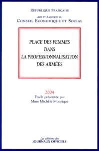 Michèle Monrique - Place des femmes dans la professionnalisation des armées.