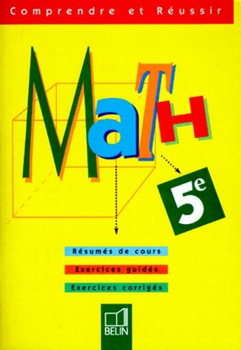 Michèle Nouvet et Philippe Depresle - Math, 5e.