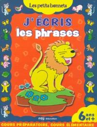 Histoiresdenlire.be J'écris les phrases Cours préparatoire et élémentaire Image