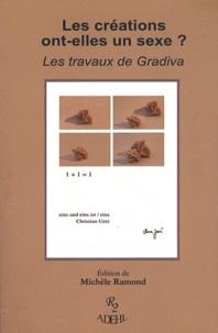 Michèle Ramond - Les créations ont-elles un sexe ?.
