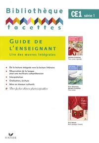 Michèle Schöttke - Bibliothèque facettes CE1 série 1 - Guide de l'enseignant.