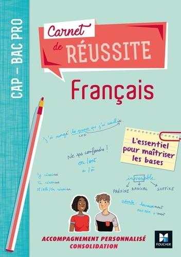 Michèle Sendre-Haïdar et Françoise Abjean - Français CAP-Bac Pro Carnet de réussite.