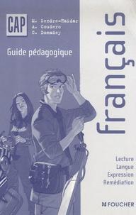Deedr.fr Français CAP - Guide pédagogique Image