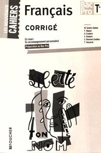 Deedr.fr Français Tle Bac Pro - Corrigé Image