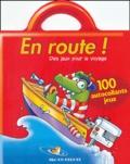Bruno Coispel et Michèle Soldevila - En route ! (bateau) - 100 autocollants jeux.