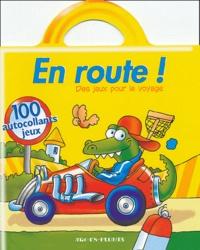 Bruno Coispel et Michèle Soldevila - En route ! (voiture) - 100 autocollants jeux.