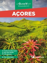 Michelin - Açores. 1 Plan détachable