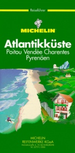 Michelin - Atlantikkuste, Poitou, Vendée, Charentes, Pyrenäen.