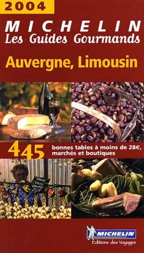 Michelin - Auvergne, Limousin.