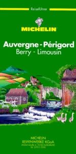 Michelin - Auvergne, Périgord, Berry, Limousin.