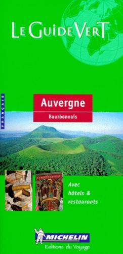 Michelin - Auvergne. - Bourbonnais, édition 2000.