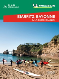 Michelin - Biarritz, Bayonne & la côte Basque. 1 Plan détachable