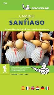 Michelin - Camino de Santiago - St-Jean-Pied-de-Port - Santiago de Compostela 1/150 000.