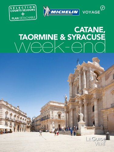Michelin - Catane, Taormine & Syracuse. 1 Plan détachable