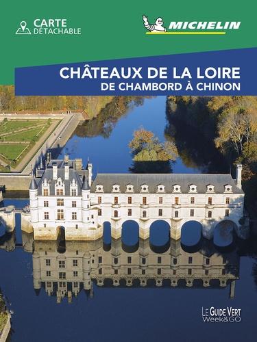 Michelin - Château de la Loire - De Chambord à Chinon. 1 Plan détachable