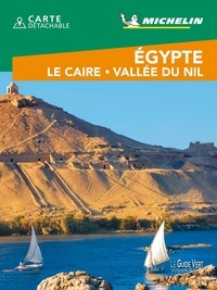 Michelin - Egypte, Le Caire, Vallée du Nil. 1 Plan détachable