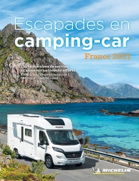 Michelin - Escapades en camping-car France. 1 Plan détachable