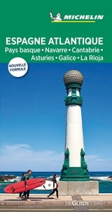 Michelin - Espagne Atlantique - Pays basque, Navarre, Cantabrie, Asturies, Galice, La Rioja.