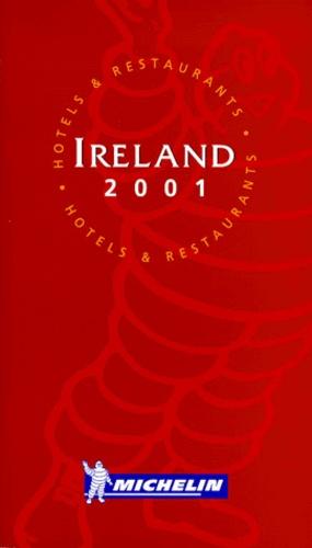 Michelin - Ireland 2001 - Hotels & restaurants.