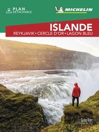 Michelin - Islande - Reykjavik, Cercle d'or, Lagon bleu. 1 Plan détachable