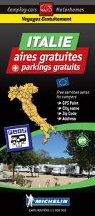 Michelin - Italie - 560 aires de camping-car gratuites. 1/1 000 000.