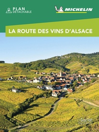 Michelin - La route des vins d'Alsace. 1 Plan détachable