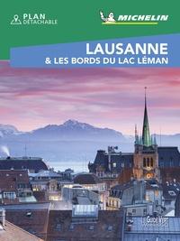 Michelin - Lausanne & les bords du lac Léman. 1 Plan détachable