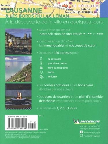Lausanne & les bords du lac Léman  avec 1 Plan détachable