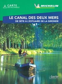 Michelin - Le canal des deux mers - De Sète à l'Estuaire de la Gironde. 1 Plan détachable