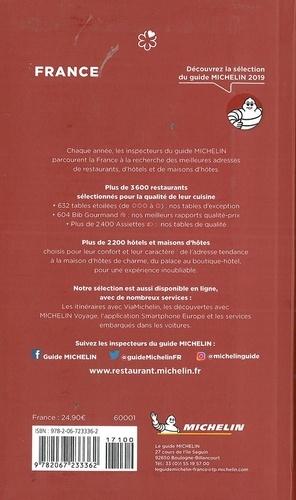 Le guide Michelin France  Edition 2019
