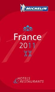 Michelin - Le Guide Rouge France - Hôtels & restaurants.