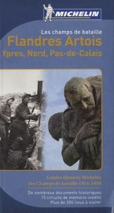 Michelin - Les champs de bataille : Flandre, Artois, Ypres, Nord, Pas-de-Calais.