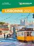 Michelin - Lisbonne. 1 Plan détachable