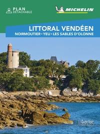 Michelin - Littoral Vendéen - Noirmoutier, Yeu, Les Sables d'Olonne. 1 Plan détachable