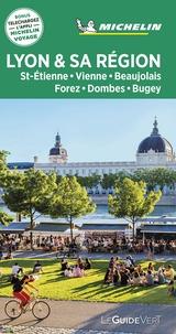 Michelin - Lyon et sa région - St-Etienne, Vienne, Beaujolais, Forez, Dombes, Bugey.