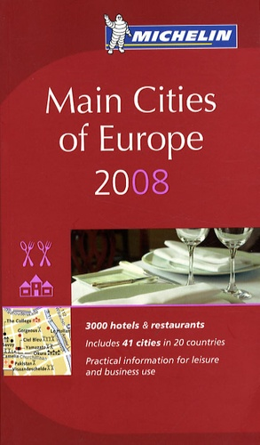 Michelin - Main Cities of Europe - Hotels & Restaurants.