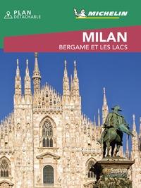 Michelin - Milan - Bergame et les lacs. 1 Plan détachable