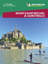 Michelin - Mont-Saint-Michel & Saint-Malo. 1 Plan détachable