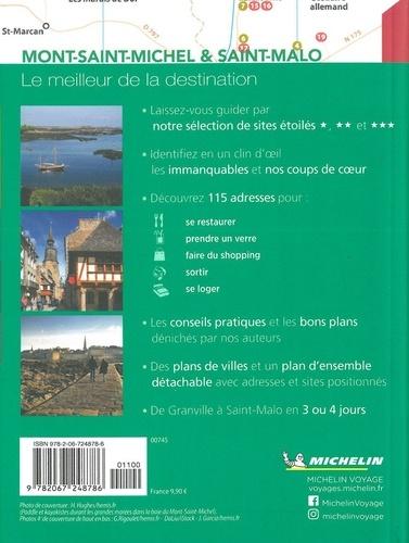 Mont-Saint-Michel & Saint-Malo  avec 1 Plan détachable