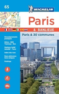 Michelin - Paris et banlieue - Paris et 30 communes.