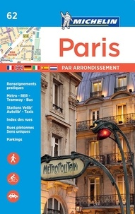 Michelin - Paris par arrondissement.