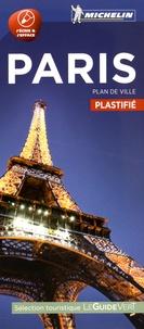 Michelin - Paris : plan de ville plastifié.