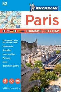 Paris- 1/20 000 -  Michelin pdf epub
