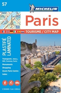 Paris- Plastifié -  Michelin pdf epub