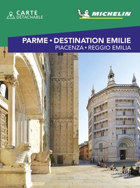Michelin - Parme & Destination Emilie - Piacenza, Reggio Emilia. 1 Plan détachable