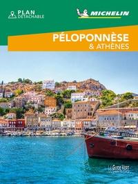 Michelin - Péloponnèse & Athènes. 1 Plan détachable