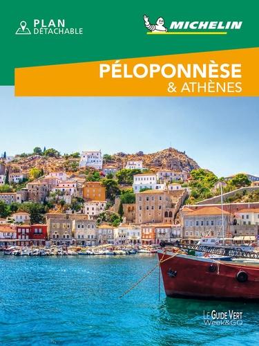 Péloponnèse & Athènes  Edition 2021 -  avec 1 Plan détachable