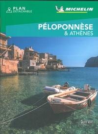 Michelin - Péloponnèse et Athènes. 1 Plan détachable