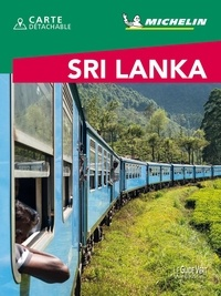 Michelin - Sri Lanka. 1 Plan détachable